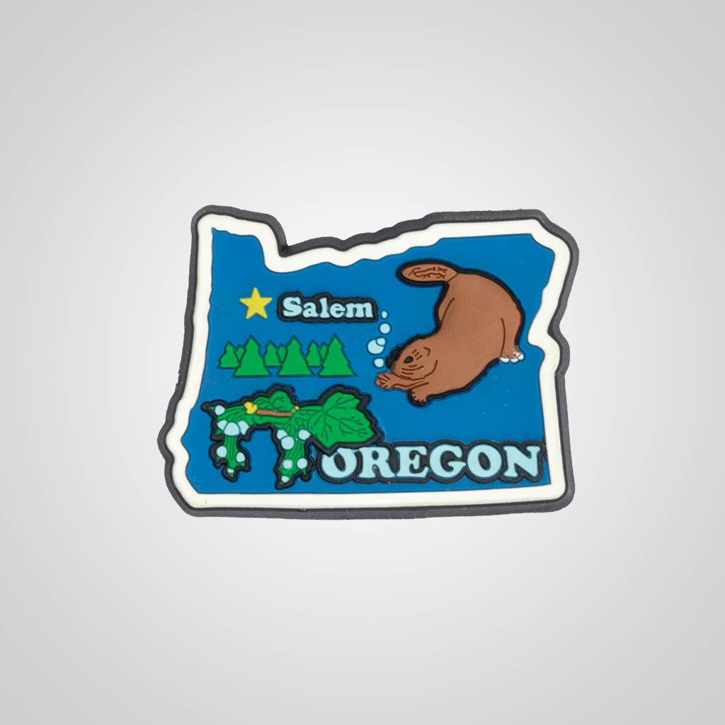 21588OR - PVC State Magnet, Oregon, Bulk