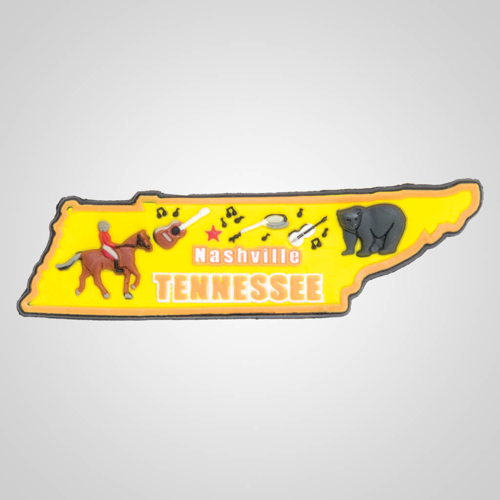 21588TN - 2-D PVC Tennessee Magnet