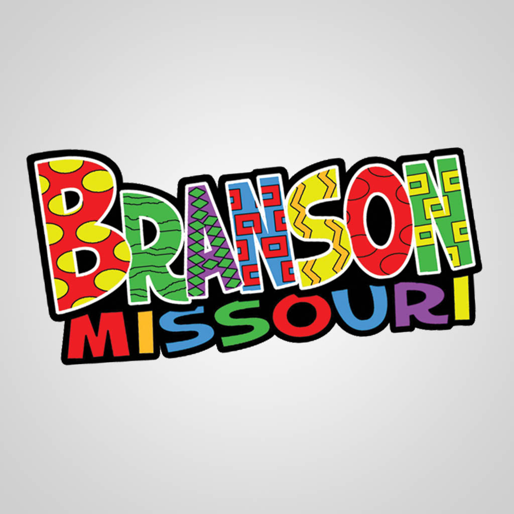 22370BR - Colorful Lettering Branson Magnet