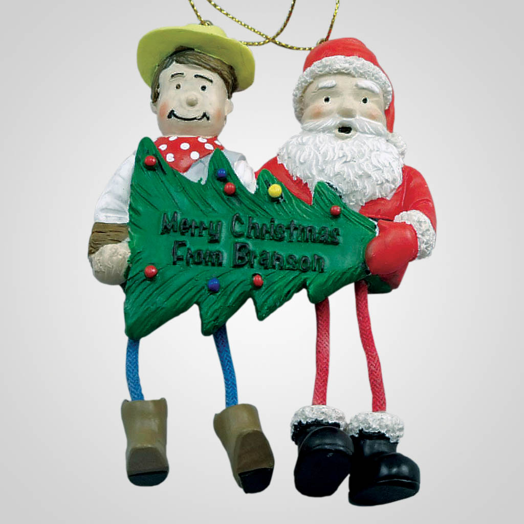 22446BR - Branson Dangle-Leg Christmas Ornament