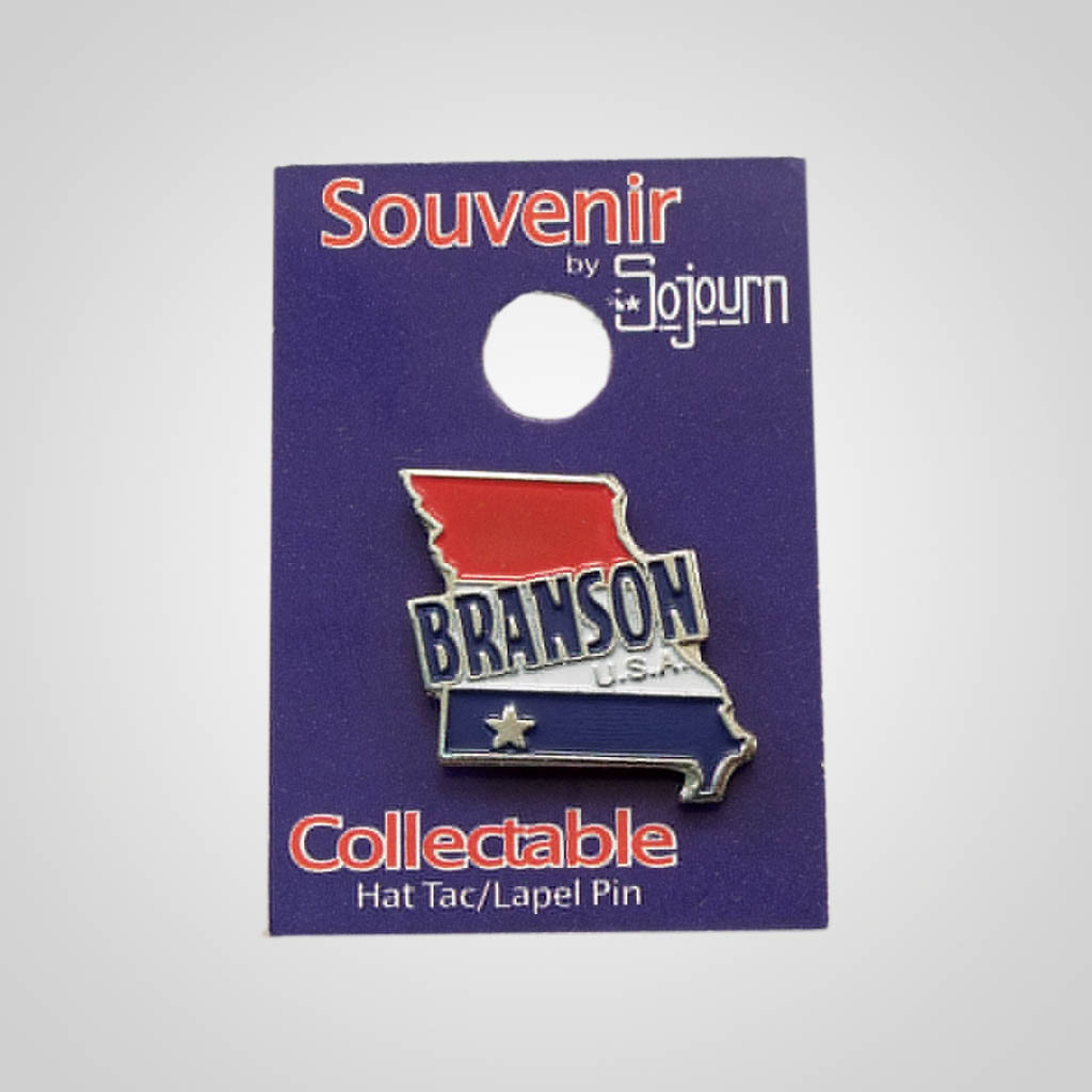22466BR - Branson USA Hat Pin