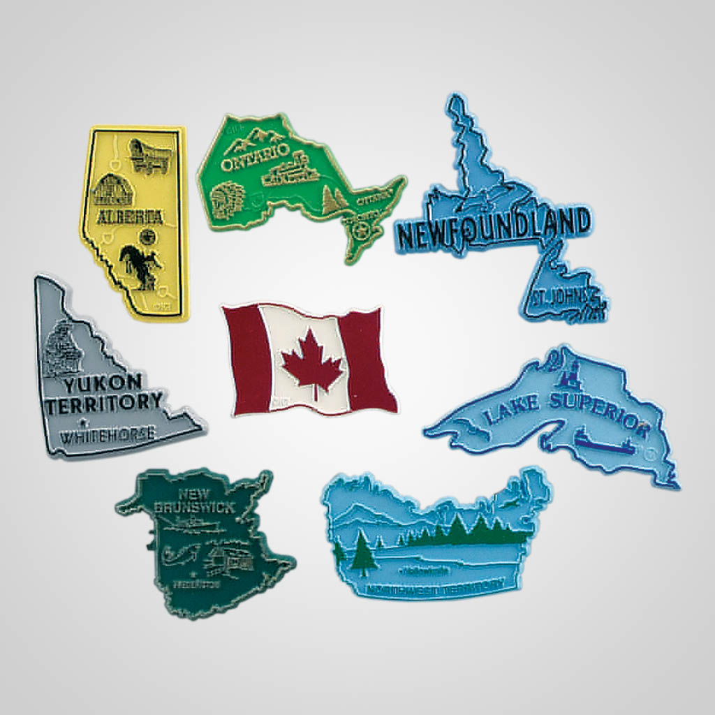 3-100NB - New Brunswick Canada Magnet
