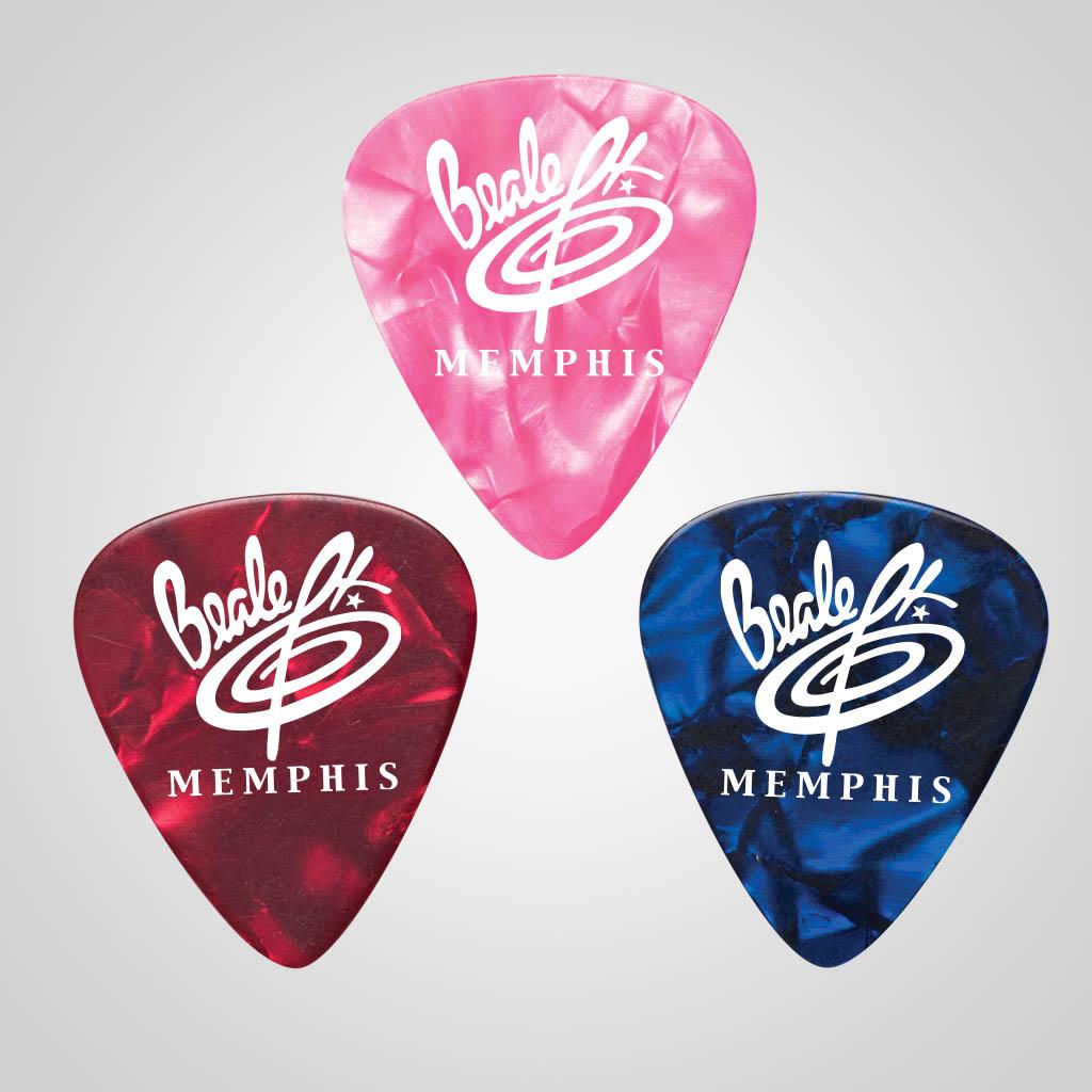 40026JP - Guitar Pick, 1 Color Print