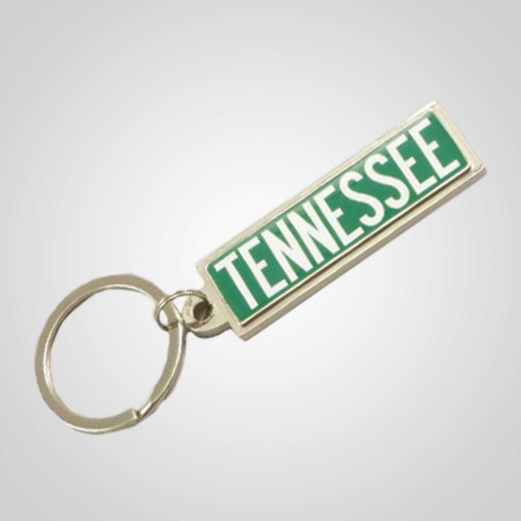 40048 - Street Sign Keychain, Name-Drop