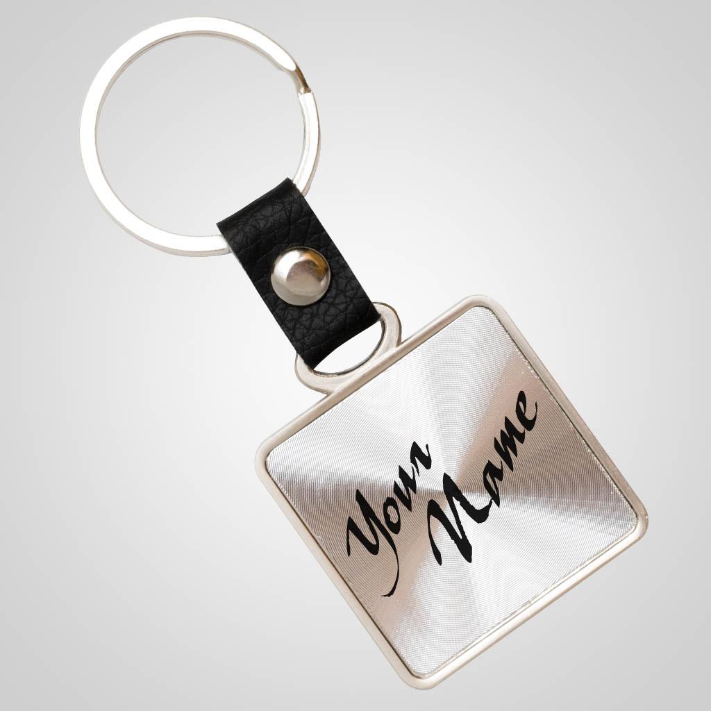 40056 - Foil Zinc Keychain, Name-Drop