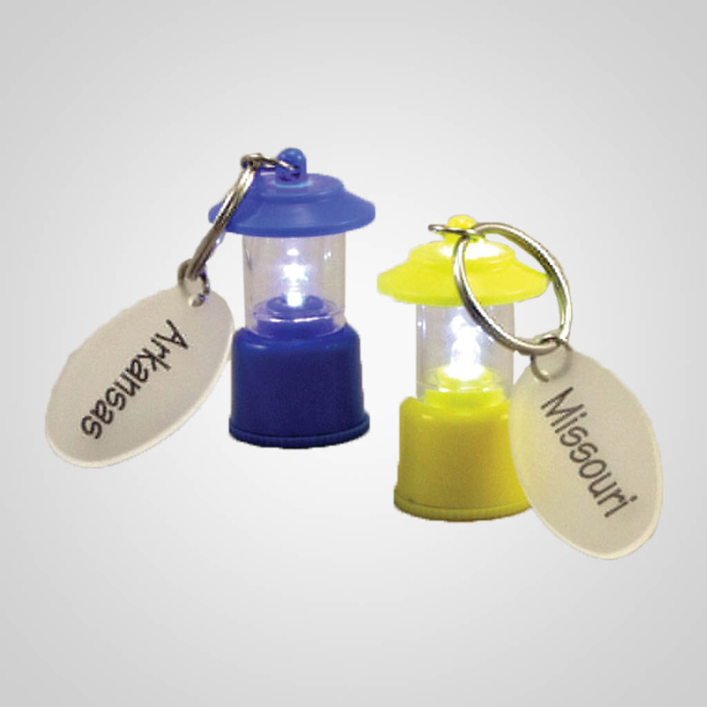 40058 - LED Lantern Keychain, Name-Drop