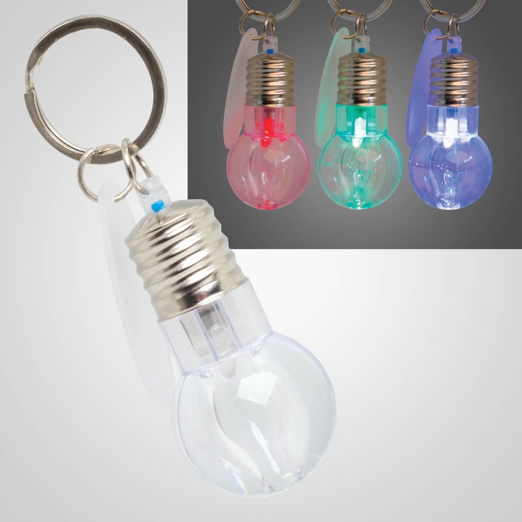 40065 - Lightbulb LED Keychain, Name-Drop