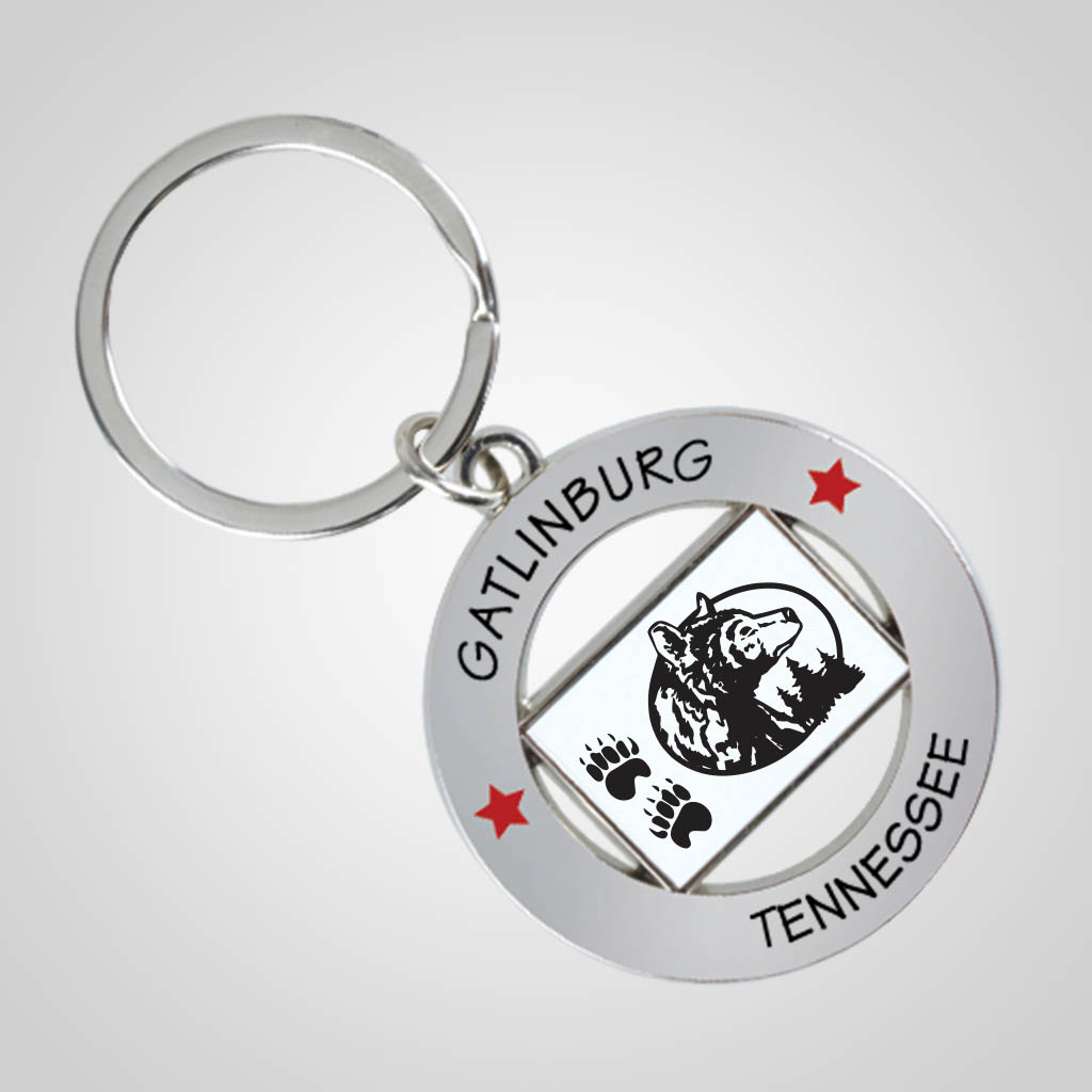 40089JP - State Flag Key Chain, 1 Color