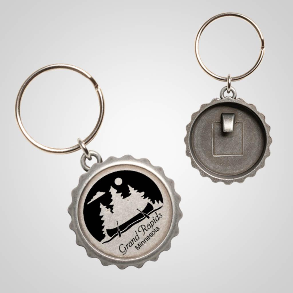 40103JP - Bottle Cap Key Chain