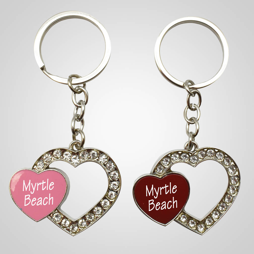 40110 - Open Heart Key Chain