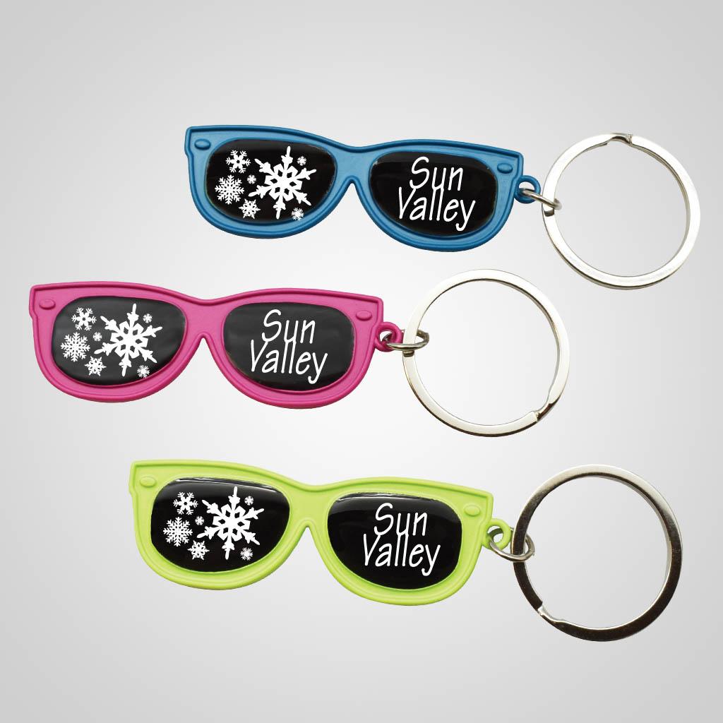 40111JP - Sunglasses Keychain, 1 Color