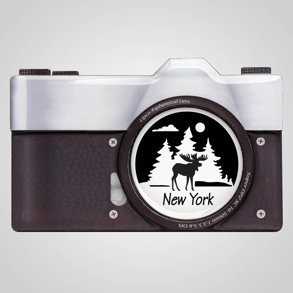 40116JP - Camera Magnet, 1 Color Imprint