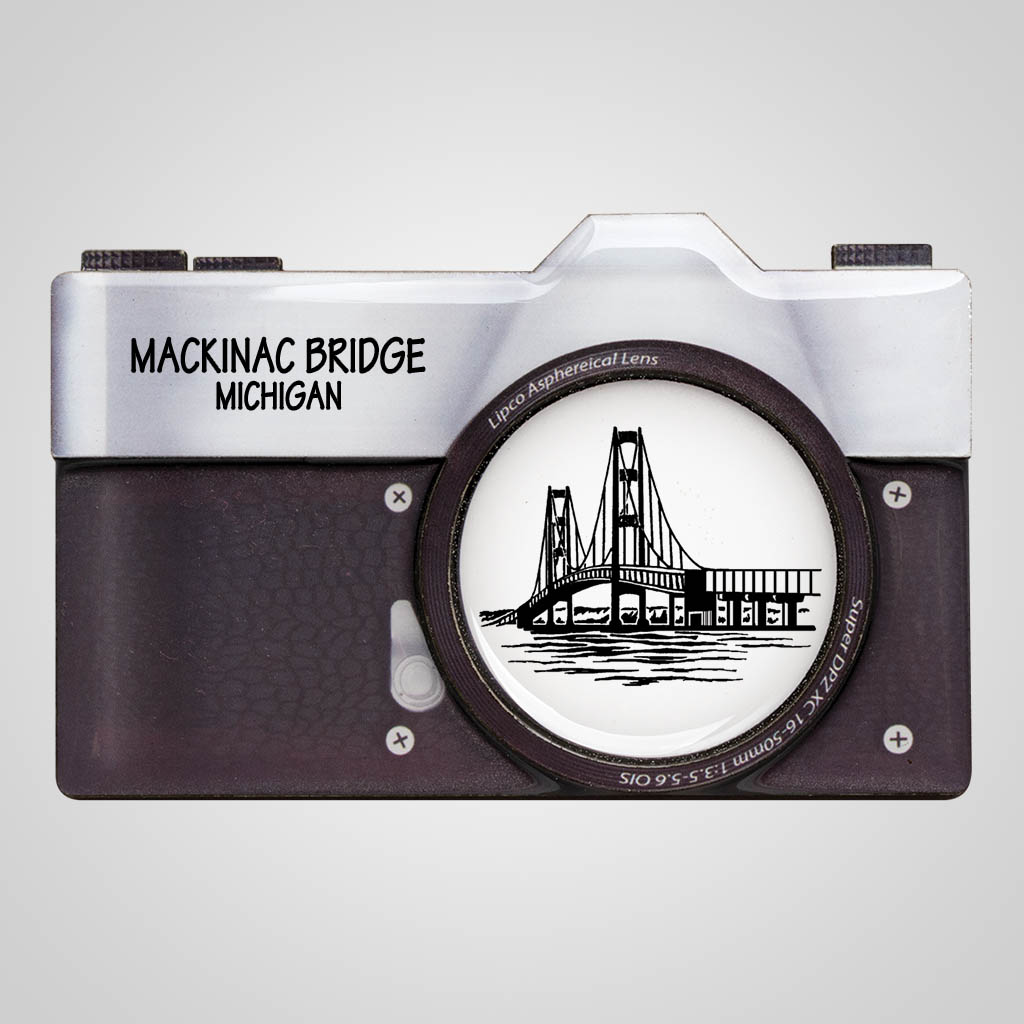 40116PP - Camera Magnet, 1 Color
