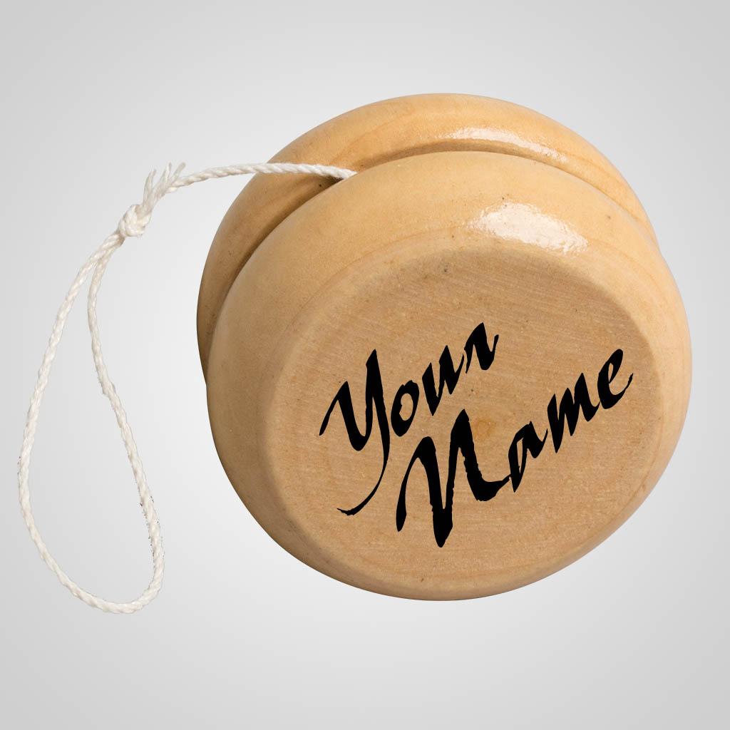 40141 - Wood YoYo, Name-Drop