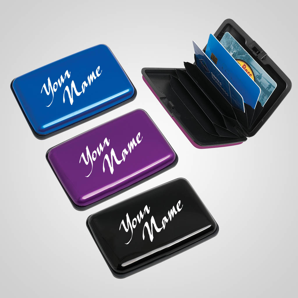 40150 - Card Case Wallet, Name-Drop