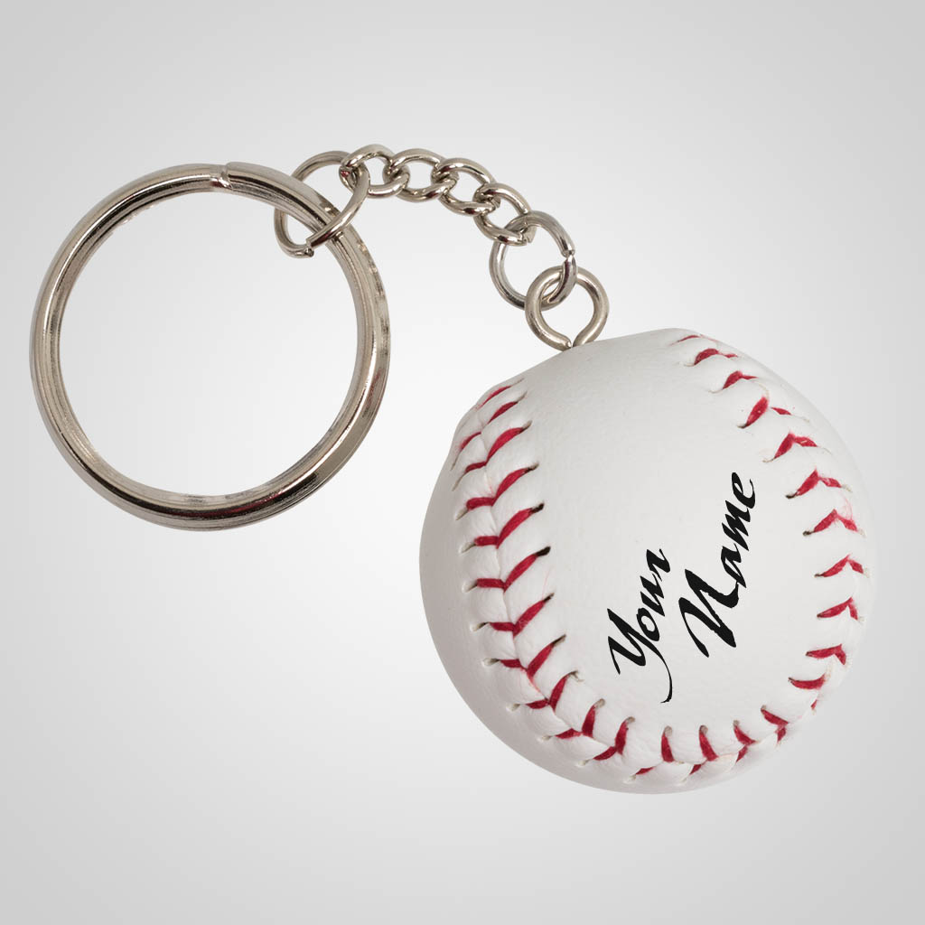 40158 - Mini Baseball Keychain, Name-Drop