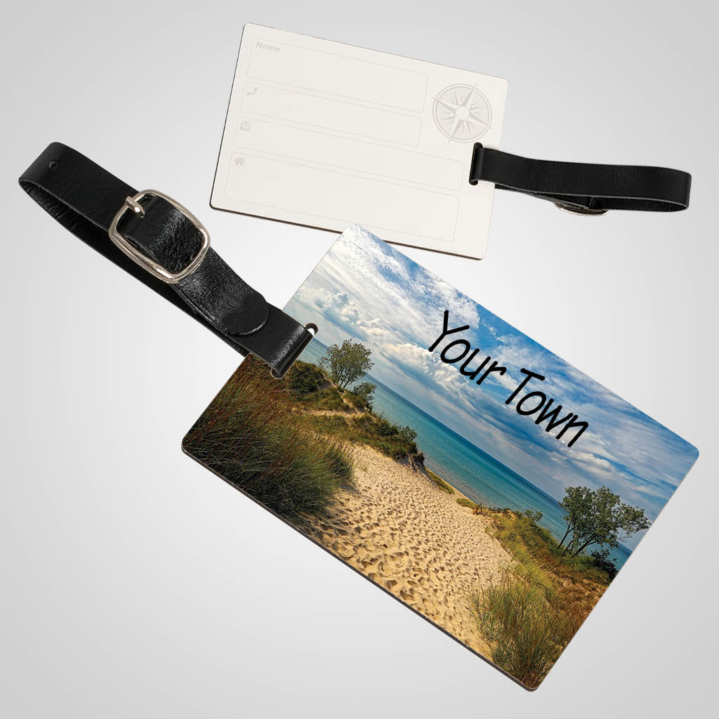 40162JPM - Luggage Tag, Multi-Color