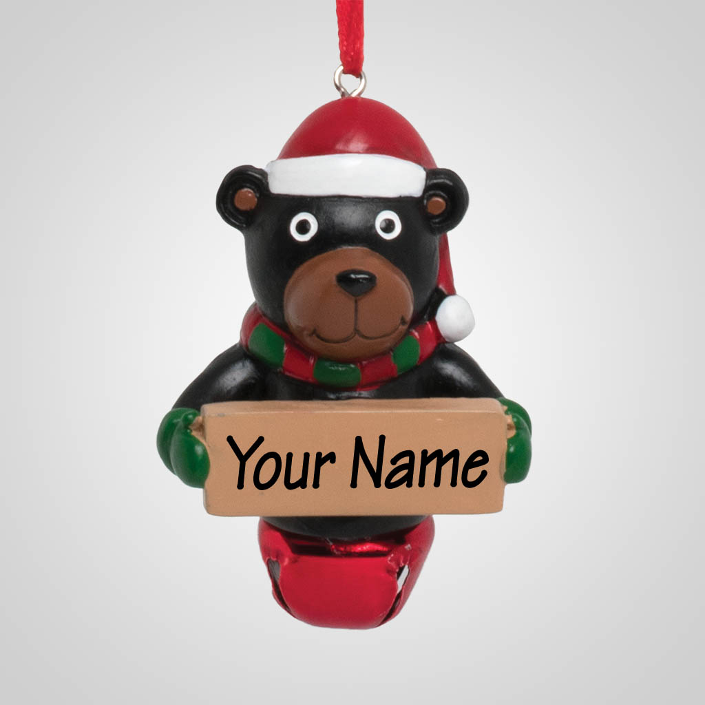 40174 - Jingle Bell Bear Ornament