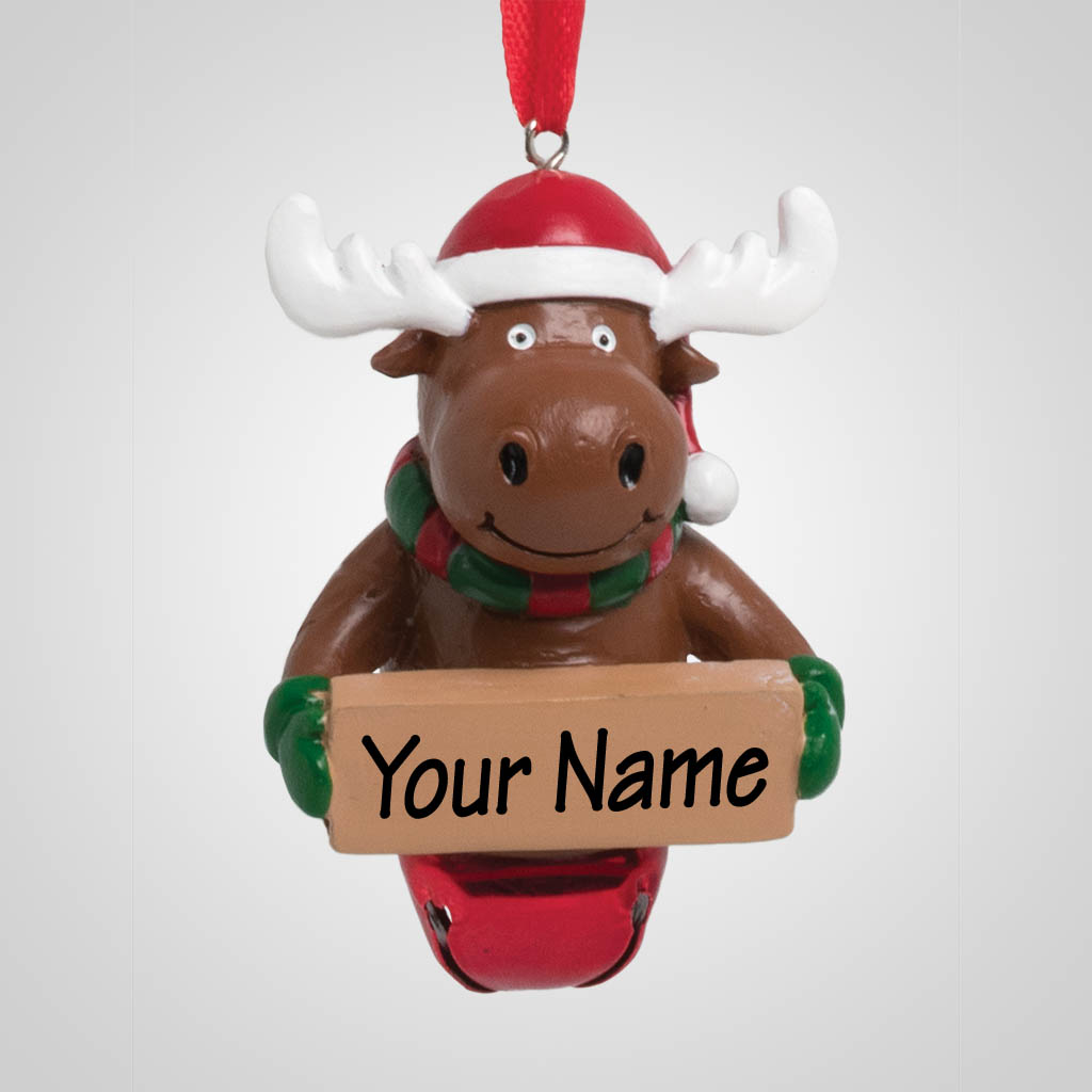 40175 - Jingle Bell Moose Ornament