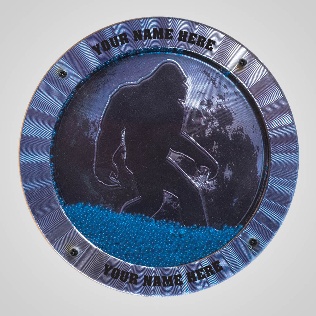40191 - Bigfoot Foil & Sand Magnet, Name-Drop
