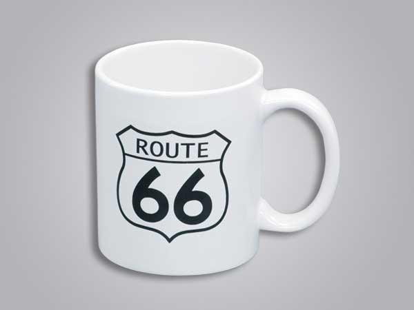 53787PL - Route 66 Mug, No State