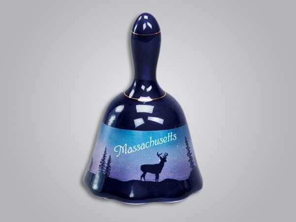 54074MA - Cobalt Deer/Forest Bell, Massachusetts