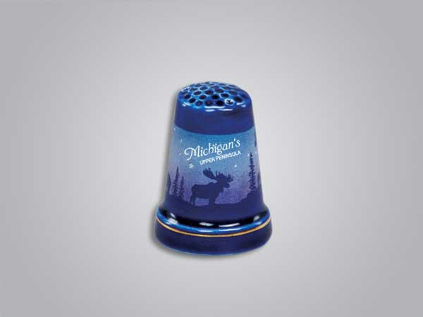 55251MUP - Cobalt Moose/Forest Thimble