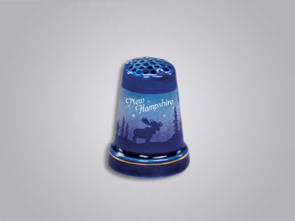 55251NH - Cobalt Moose/Forest Thimble