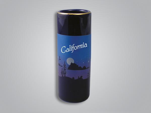 56608CA - Cobalt Desert Scene Shooter - Imprinted