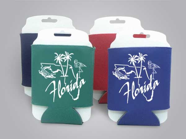 57145FL - Folding Can Cooler, Florida