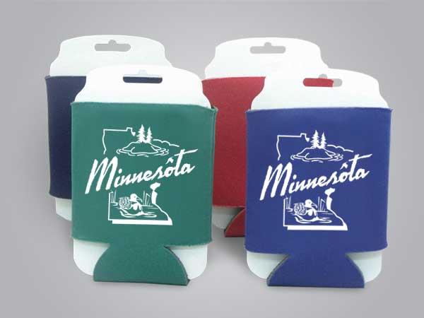 57145MN - Folding Can Cooler, Minnesota