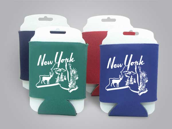 57145NY - Folding Can Cooler, New York
