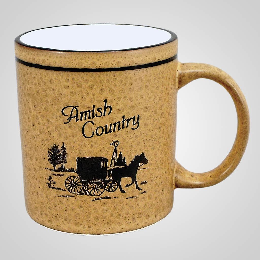 58058AC - Bubble Glaze Mug, Amish Country