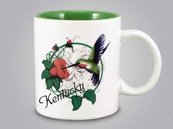 58275KY - Hummingbird Mug - Imprinted