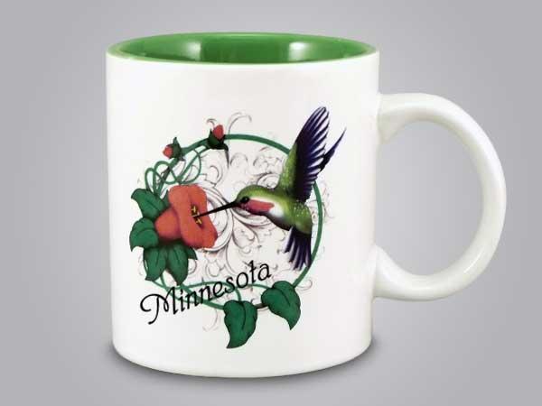 58275MN - Hummingbird Mug - Imprinted