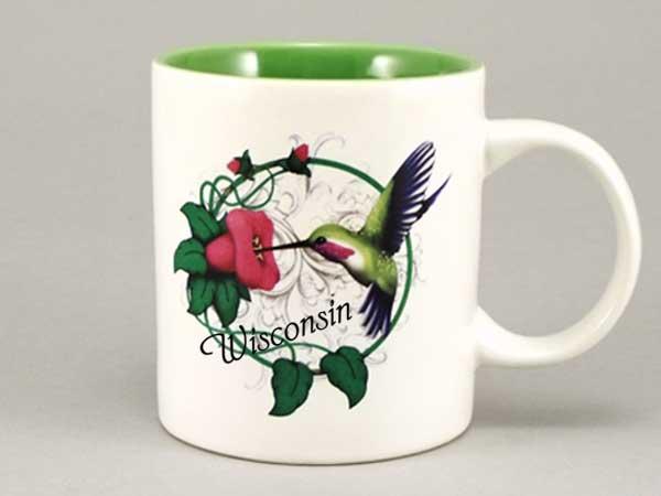 58275WI - Hummingbird Mug - Imprinted