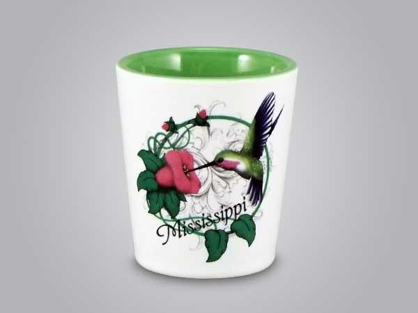 58277MS - Hummingbird Shot Glass - Imprinted