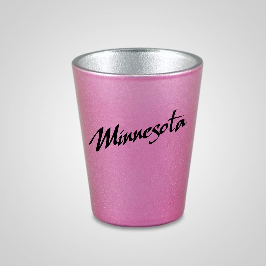 58329MN - Pearlized Shot Glass, Minnesota