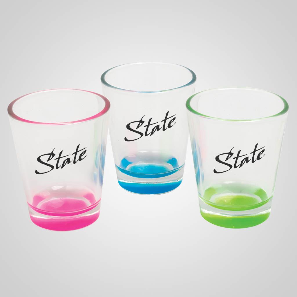 58903MN - Pastel Color Base Shot Glass, Minnesota