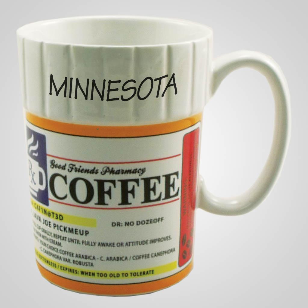 59475MN - Prescription Coffee Mug, Minnesota
