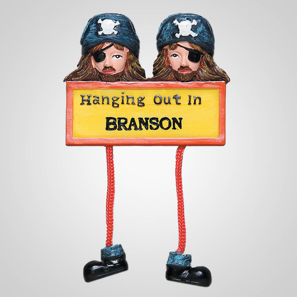 62735IM - Pirate Dangle Magnet, Name-Drop