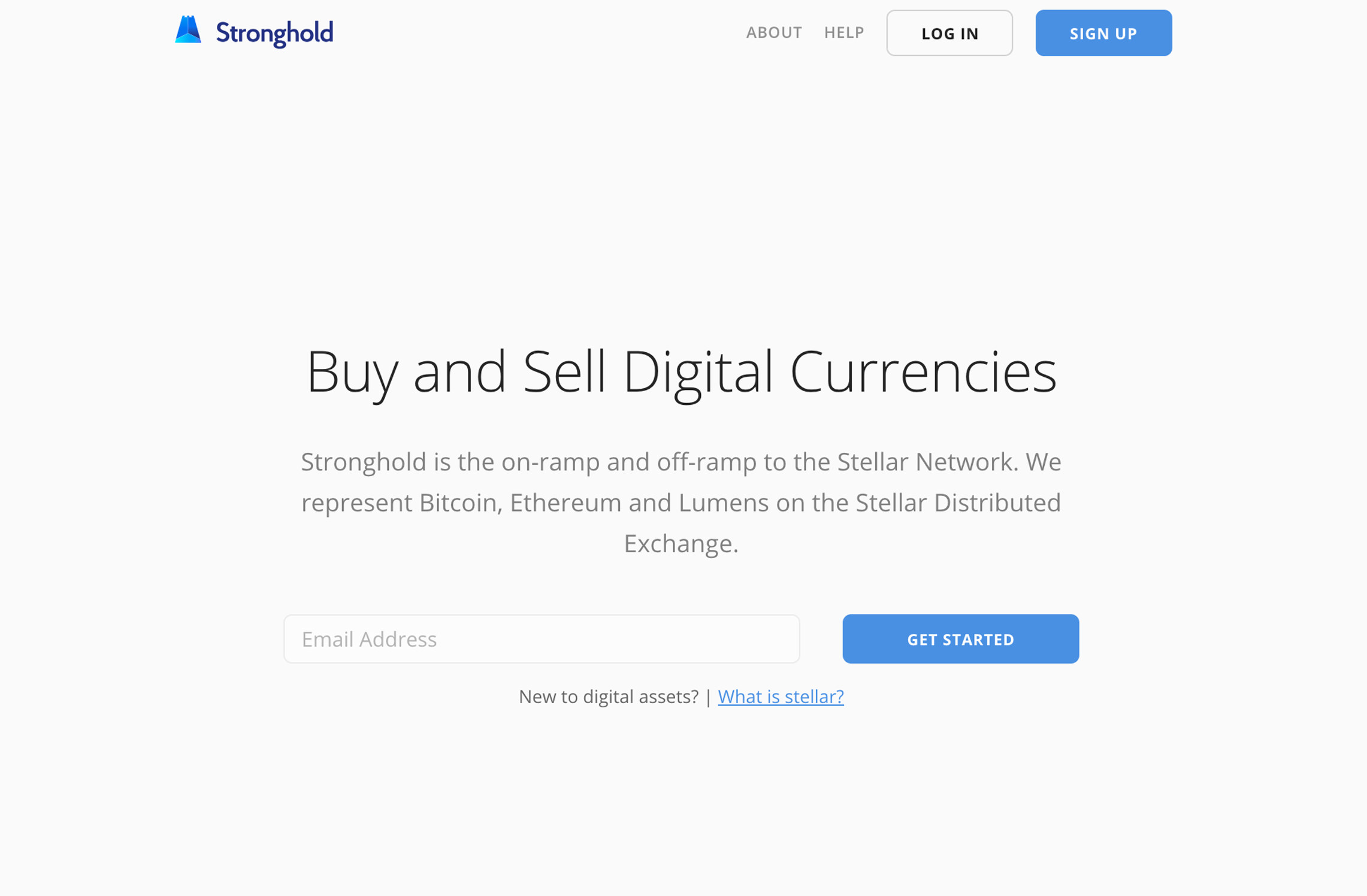 stronghold stellar anchor decentralized exchange user interface