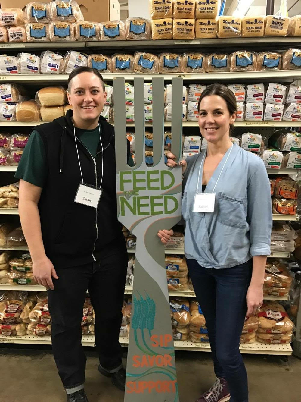 Dotty dumpling's dowry volunteers at the river food pantry