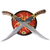 2-Piece Elf Warrior Sword Set