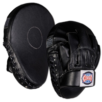 Combat Sports Black Contoured Punch Mitts