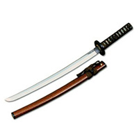 Metallic Gold Samurai Sword - (28 in.)
