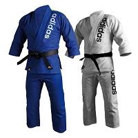 Adidas 24oz Brazilian Jiu-Jitsu Traditional Cut Kimono - 100% Cotton - Double Weave