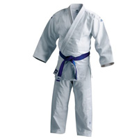 Adidas Aikido Training Gi - 100% Cotton - Single Weave