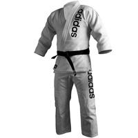 Adidas Brazilian Jiu-Jitsu Traditional Cut Kimono - 100% Cotton - Double Weave