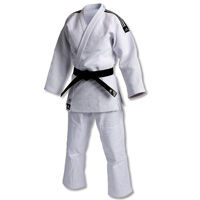 Adidas IJF Judo Champion Gi - Cotton/Poly Blend - Double Weave